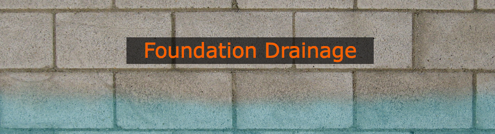 foundation drainage, foundation, drainage, waterproofing,  fix, problem, solution, drains,  water, foundation, drainage, system, installation, wall, pipe, basement,  niskayuna, colonie, latham, ny,